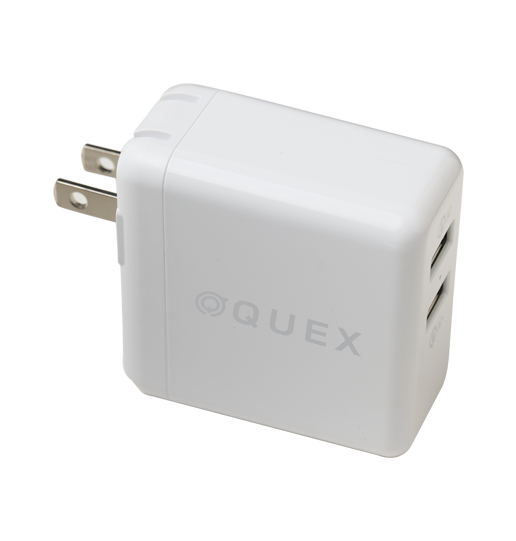 DUAL QC3.0 TRAVEL CHARGER
