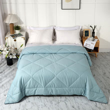Load image into Gallery viewer, All Season 100% Cotton Quilted Comforter (Miami Blue)