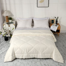Load image into Gallery viewer, All Season 100% Cotton Quilted Comforter (White)