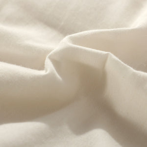 All Season 100% Cotton Quilted Comforter (White)