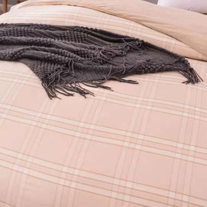 100% Natural Colored Cotton Comforter Cover