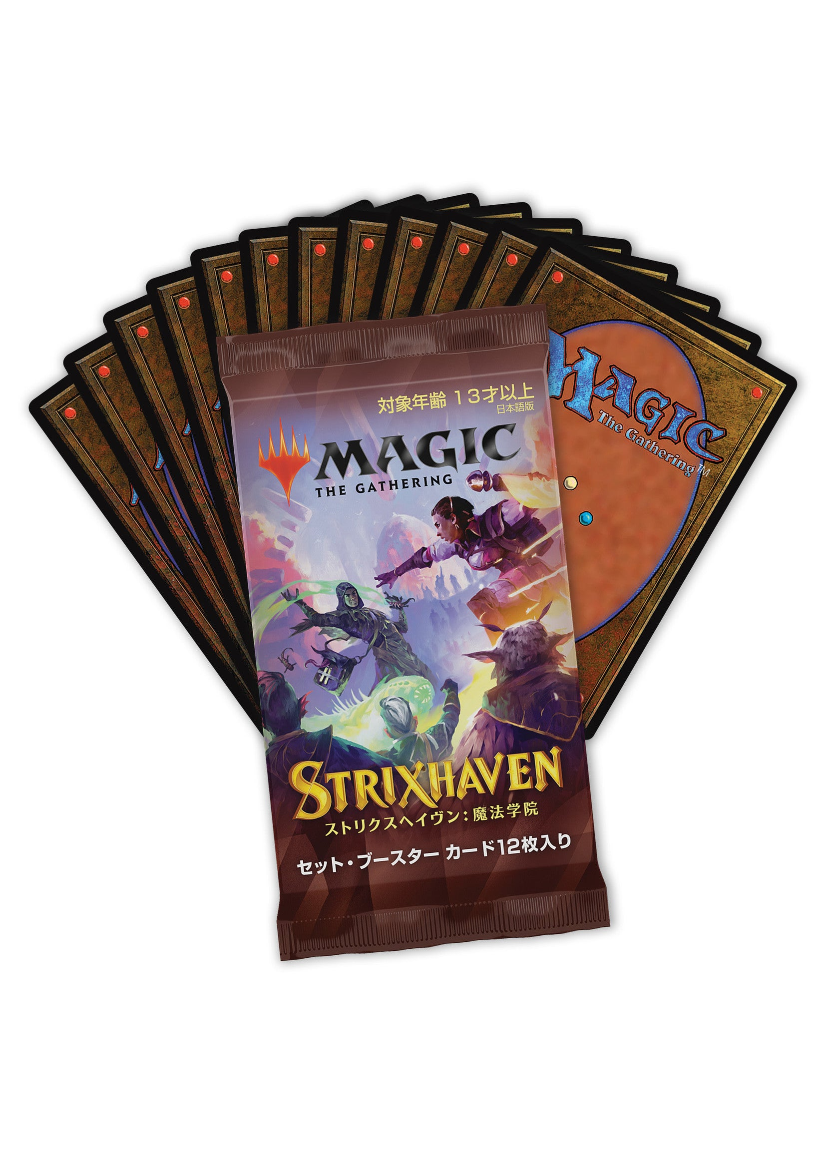 Strixhaven Japanese Set booster pack | Pandora's Boox