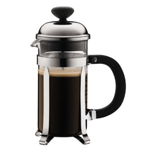 BODUM Chambord Coffee maker, 3 cup, 0.35 l, 12 oz, Shiny