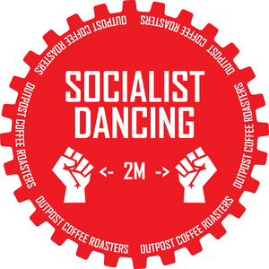 Socialist Dancing Sticker
