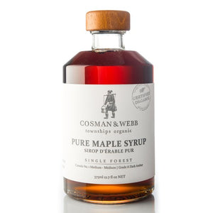 Organic Maple Syrup, Amber Rich Taste - 375ml