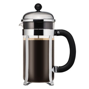BODUM Chambord Coffee maker, 8 cup, 1.0 l, 34 oz, Shiny