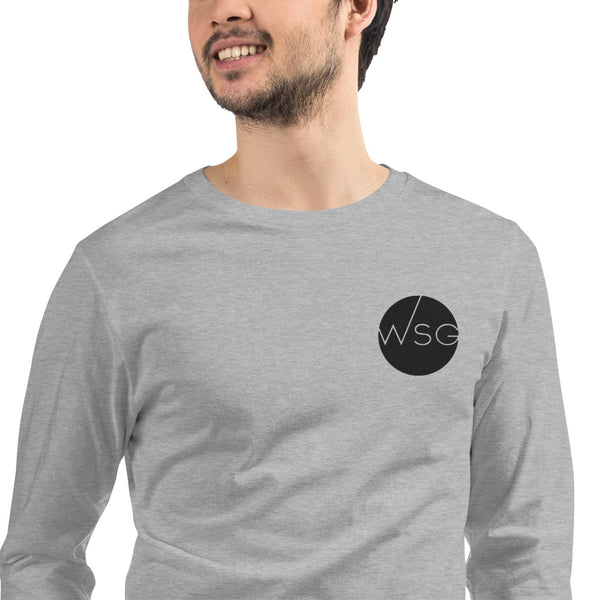 WSG Logo Long Sleeve Embroidered Shirt - WorshipSoundGuy