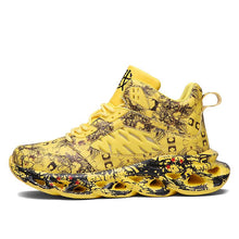 Load image into Gallery viewer, INSTINCT ' King of Kings' Sneakers -Yellow