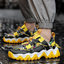 Load image into Gallery viewer, Mens 2020 FASHION  Yellow Sneakers- Belgards luxury mens fashion