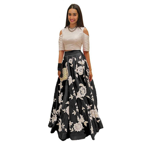 Didi Black Color Eye-Catching Lehenga Choli ( Akira - Black )