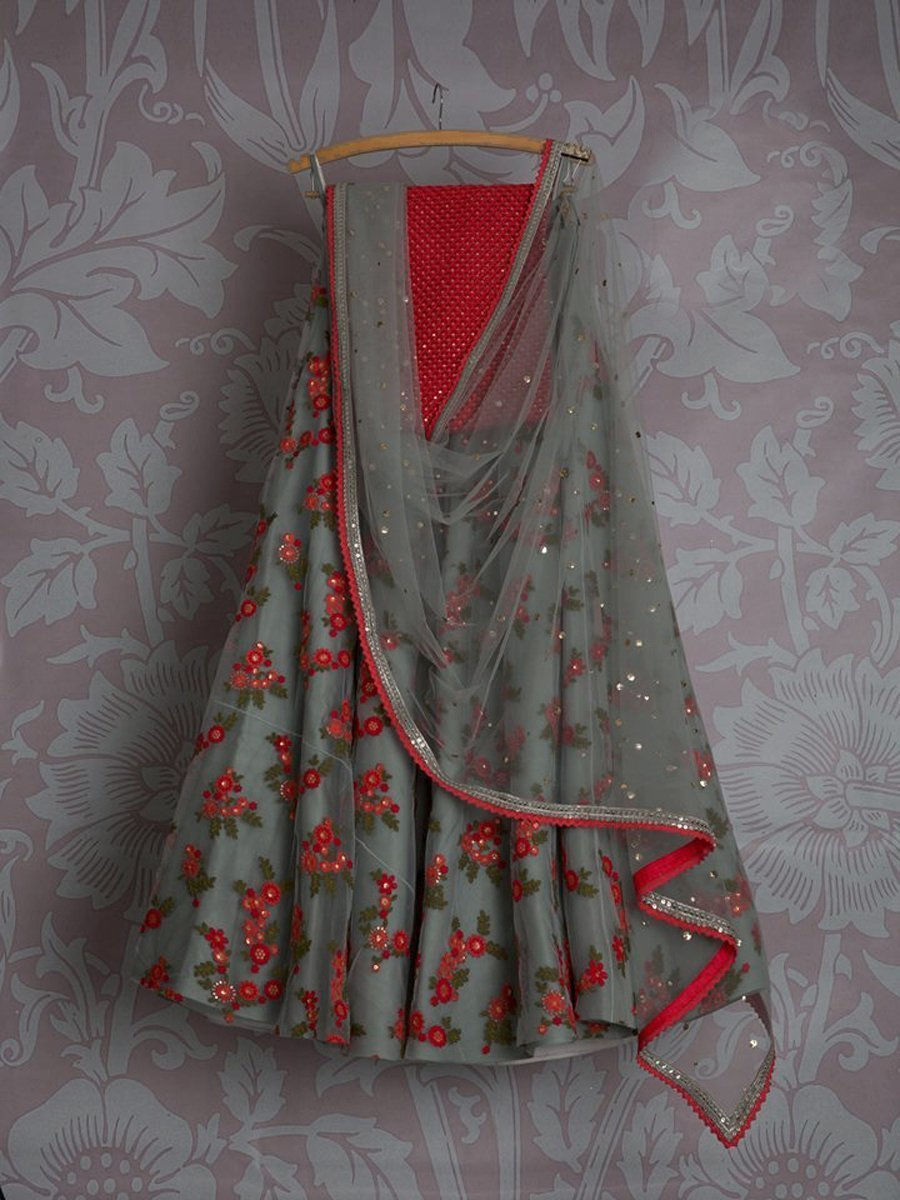 Didi Gray gorgeous Lehenga Choli With Dupatta (SR-285)