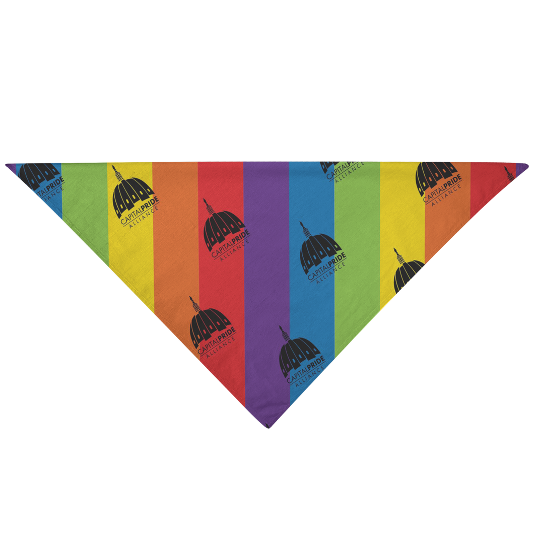 Capital PRIDE Pet Bandana