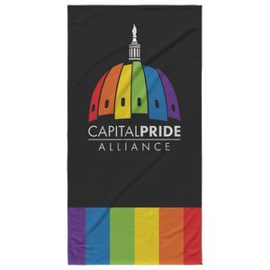 Capital Pride Beach Towel