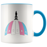 Capital Trans Pride Dome Mug (White)