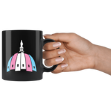 Capital Trans Pride Dome Mug (Black)