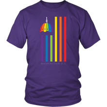 Load image into Gallery viewer, DC Pride Flag Tee