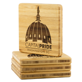 Capital Pride DC Bamboo Coasters