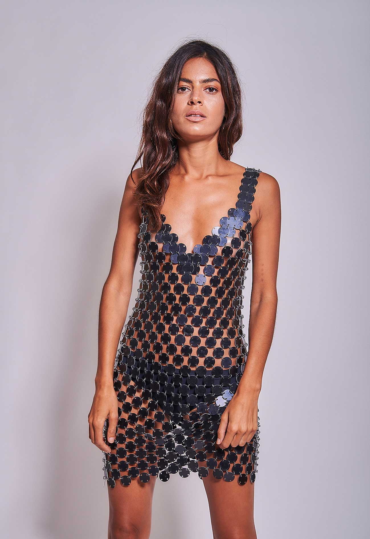Disco Dress Black