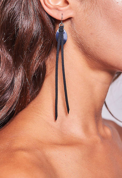 Disco Earrings Black