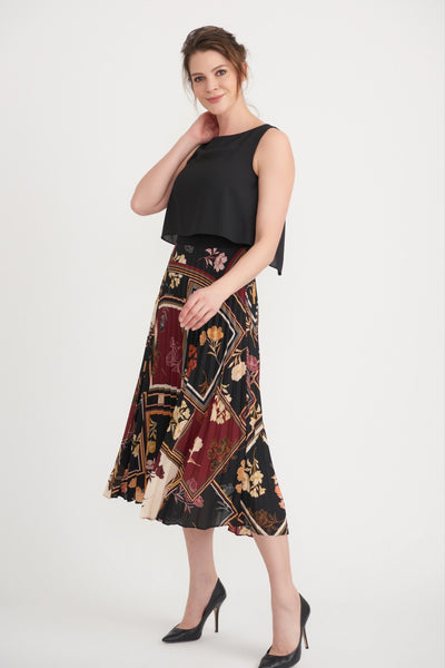 Black/ Multi Dress / 203421