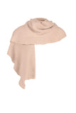 Joeline Scarf / LSK370 - Colours of Tan , Blush and Greenery