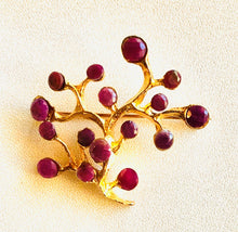 Load image into Gallery viewer, Genuine Ruby Brooch