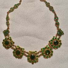 Load image into Gallery viewer, Jade and Peridot Necklace