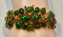 Load image into Gallery viewer, Jade and Carnelian Bracelet