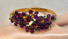 Load image into Gallery viewer, Amethyst and Peridot Bracelet