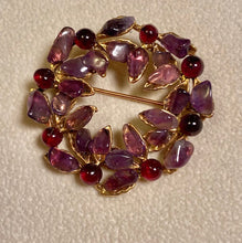 Load image into Gallery viewer, Amethyst Brooch