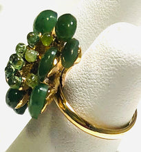 Load image into Gallery viewer, Jade and Peridot Ring