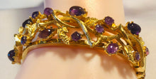 Load image into Gallery viewer, Amethyst Cuff Bracelet