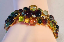 Load image into Gallery viewer, Tourmaline Multi Stone Bracelet