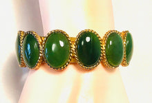 "Load image into Gallery viewer, Cuff Bracelet - ""A"" Quality Nephrite Jade"