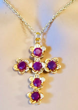 Load image into Gallery viewer, Genuine Ruby Pendant