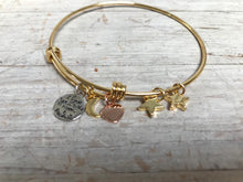 Load image into Gallery viewer, Love you to the Moon... Charm Bracelet