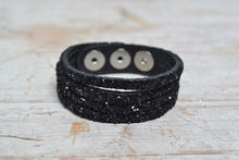 Load image into Gallery viewer, Sparkly Leather Cuffs!