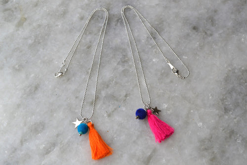 Star Tassel Necklace