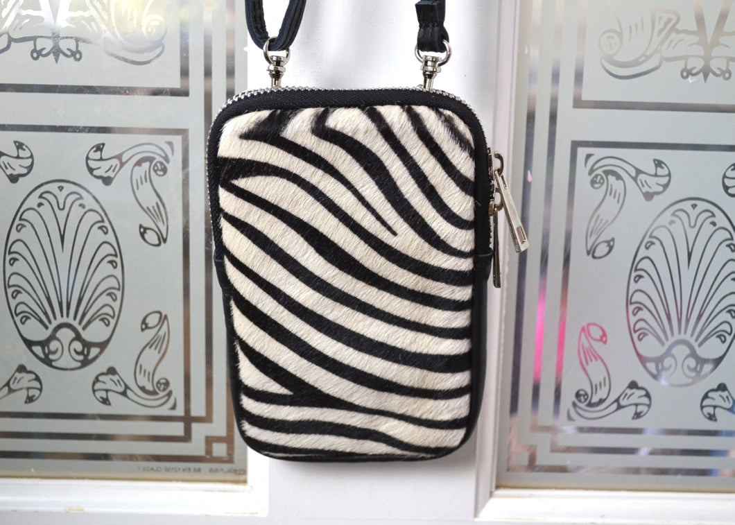 Phone pouch crossbody bag