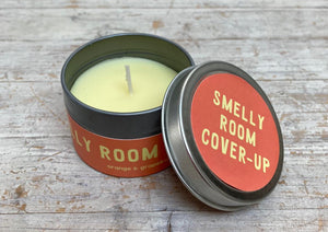 Smelly Room - tin candle
