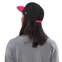 Load image into Gallery viewer, Swagmate Be Nice Snapback Hat - Black/Neon Pink