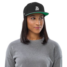 Load image into Gallery viewer, Swagmate Be Nice Snapback Hat - Black/Silver