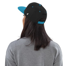 Load image into Gallery viewer, Swagmate Be Nice Snapback Hat - Black/Teal