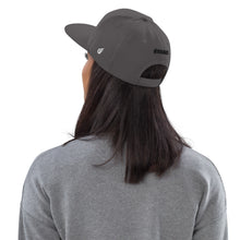 Load image into Gallery viewer, Swagmate Be Nice Snapback Hat - Grey