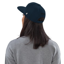 Load image into Gallery viewer, Swagmate Be Nice Snapback Hat - Dark Navy
