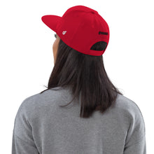 Load image into Gallery viewer, Swagmate Be Nice Snapback Hat - Red