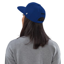 Load image into Gallery viewer, Swagmate Be Nice Snapback Hat - Royal Blue