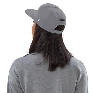 Swagmate Be Nice Snapback Hat - Silver