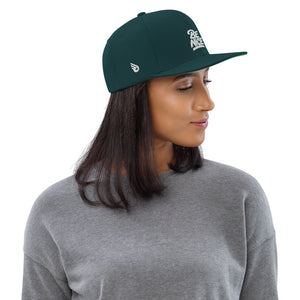 Swagmate Be Nice Snapback Hat - Spruce