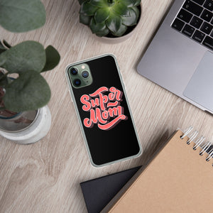 Swagmate Super Mom iPhone Case